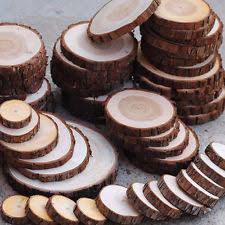 round wood centerpiece ebay