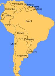south america map rainforest paraguay visiting the atlantic rainforest world land trust