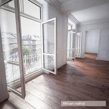 wooden floor cherry 3d cgtrader