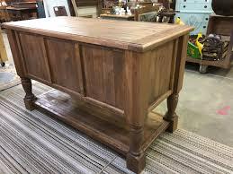 kitchen island turned leg cabinet buffet sideboard