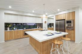 Kitchen Cabinet Makers Sydney The Nova Display By Mojo Homes Sydney A Square Island Bench Works