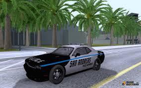 Dodge Challenger Police Car - 2010 dodge challenger srt8 police for gta san andreas