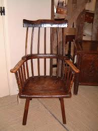 Armchair Sales A Good 18thc Primitive Welsh Ash And Sycamore Stick Armchair