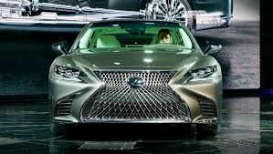 lexus ls coach edition 2018 lexus ls500 revealed in detroit with powerful new twin turbo