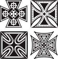cast iron celtic cross 6 7 8 w 1 2 thickness 10 1 8 h 1 75 celtic
