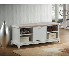luxury storage bench with cushion seat storage bench with