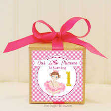 party favor labels birthday baby girl party favor box gift box baby birthday