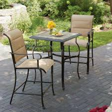 Edison Bistro Table Hampton Bay Bistro Sets Patio Dining Furniture The Home Depot