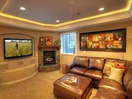 Pictures Of Finished Basement by Installing Small Basement Home Theater Ideas Jeffsbakery