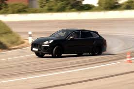 porsche macan 2013 feature flick 2015 porsche macan drifting around the track