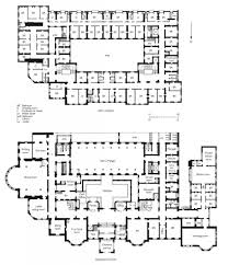 plans of the ground floor and first floor of the langham hotel