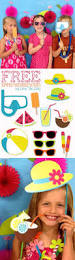 free summer photobooth props printables by love the day