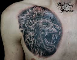 download lion tattoo designs for men on chest danielhuscroft com