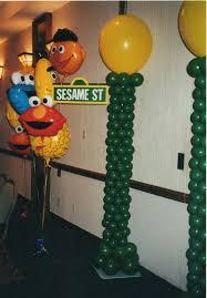 sesame decorations sesame balloon decorations by makinmemories4u balloon