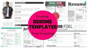free resume templates 81 marvellous printable template creative