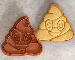 poo emoji cookie cutter from crimsonmanecreations on etsy studio