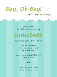 baby shower invitation messages for boy free baby shower