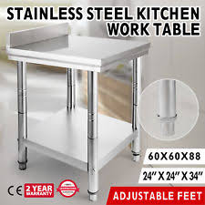 commercial kitchen backsplash commercial kitchen work tables ebay
