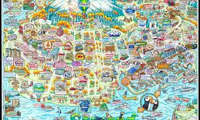 Seward Alaska Map by Seward U2013 Alaska Attractive Maps