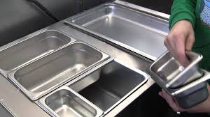 steam table pans for sale steam tables steam pan layouts using adapter bars youtube