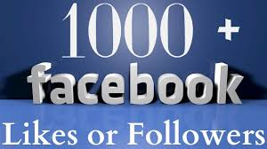 facebook fan page followers get 1000 likes for facebook page youtube