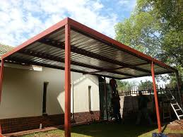 Carport Designs Image 1 Flat Roof Carport With Storage Image 7 Carport