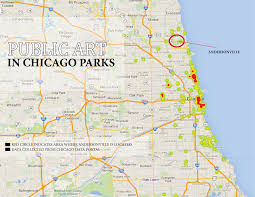 Chicago Community Map by