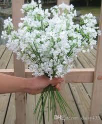 gypsophila baby u0027s breath artificial silk flower plant home wedding