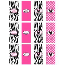 minnie mouse zebra mini candy clipart panda free clipart images
