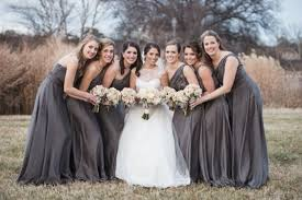charcoal grey bridesmaid dresses 20 gorgeous gray bridesmaid dress ideas for fall weddings