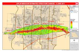 joplin mo map the joplin tornado by tcp4124