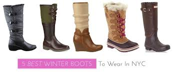 womens boots nyc 5 best winter boots to wear in nyc midtown