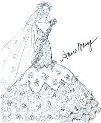 designer fantasy sketches kim kardashian u0027s wedding gown wedding