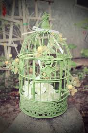 best 25 bird cages decorated ideas on pinterest shabby chic metal green cottage bird cage decorated shabby chic 29 99 via etsy
