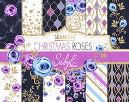 purple roses for sale 60 sale seamless floral digital paper pink and blue