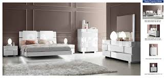 Bedroom Furniture Stores Nyc by Status Caprice Bedroom Set White Bed Nightstand Dresser And