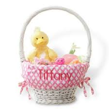 personalized easter basket personalized easter baskets for kids lillian vernon