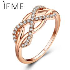 fashion cross rings images If me new fashion crystal infinity rings micro inlayed cross rings jpg