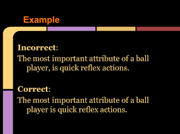What Is A Reflex Action Example Rules Comma Rules Learning Target Today Students Will Be Able To