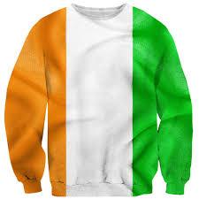 Irrland Flag Irish Flag Sweater Shelfies