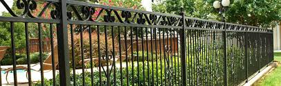 humble wrought iron ornamental iron fence aluminum fencing