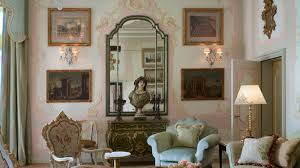 Jacquard Wallpaper Living Room Heritage Suite The Gritti Palace Venice