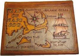 leather map the cape cod store com leather maps and photo albums
