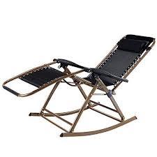infinity zero gravity rocking chair outdoor lounge patio recliner
