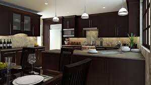 Dark Brown Kitchen Cabinets Kitchen Cabinets Kitchen Design And Bathroom Remodeling Contractors