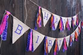 Happy Birthday Flags Happy Birthday Banner Birthday Bright Colors Summer Colors