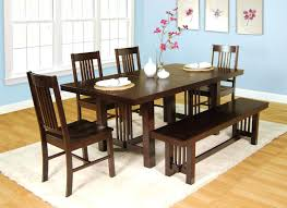 round white dining room table white dining table and bench with