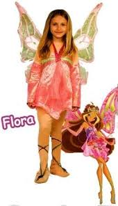Winx Club Halloween Costumes Librolandia 02102 Costume Winx Flora Enchantix Tg 2 3 4 Amazon