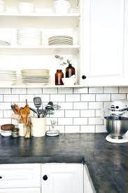 2014 kitchen design ideas tiles grey and white kitchen makeover with tile backsplash and