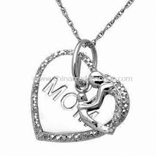 s day necklace wholesale pendant necklace made of alloy special for mothers day